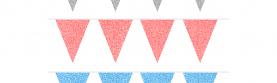 NYHET: Vimplar / Vimpel i Glitter!